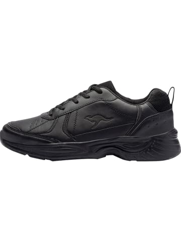 "Kangaroos Sneakersy ""KP-Lex"" w kolorze czarnym"