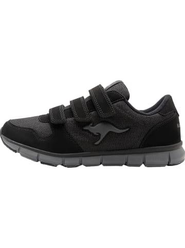 "Kangaroos Sneakersy ""K-BlueRun 701 B"" w kolorze czarnym"
