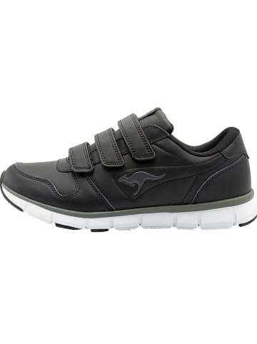 "Kangaroos Sneakersy ""K-BlueRun 700 V B"" w kolorze czarnym"