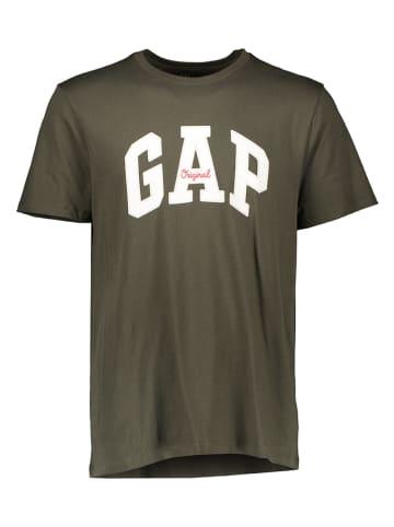 GAP Koszulka w kolorze khaki
