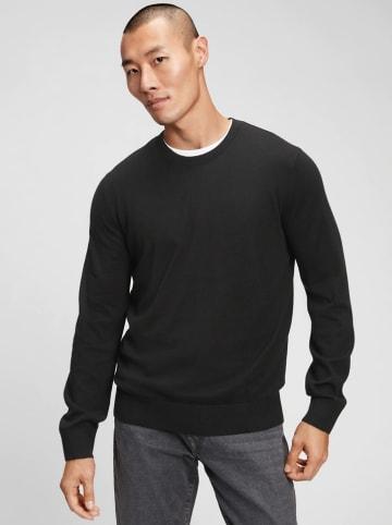 GAP Bluza w kolorze czarnym