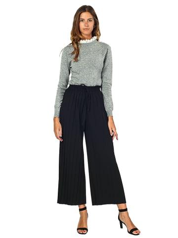 ASSUILI Spodnie w kolorze czarnym