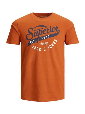JACK & JONES Junior Koszulka w kolorze pomarańczowym