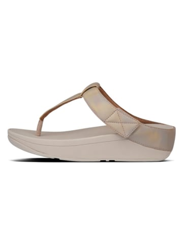 Fitflop Zehentrenner in Gold
