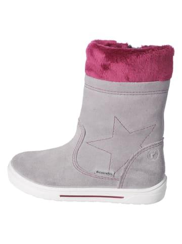 "Ricosta Leder-Boots ""Susanna-S"" in Grau"