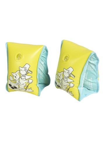"""Arena Rękawki """"Friends Soft Armband"""" w kolorze żółtym do pływania"""