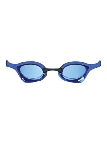 """Arena Okulary """"Cobra Ultra Swipe"""" w kolorze niebiesko-czarnym"""