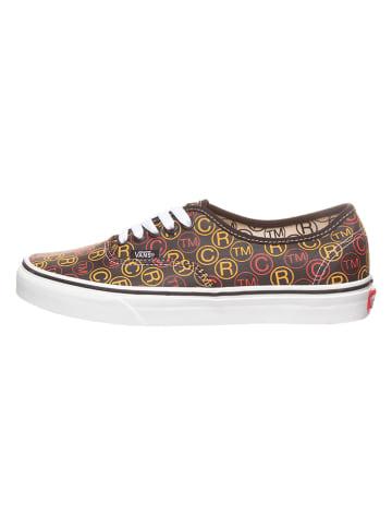 """Vans Sneakers """"Authentic"""" in Schwarz/ Bunt"""