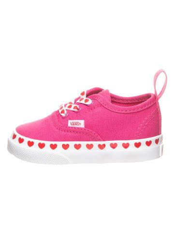"""Vans Sneakersy """"Authentic"""" w kolorze różowym"""