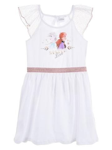 "Disney Frozen Sukienka ""Frozen"" w kolorze białym"