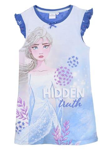 """Disney Frozen Koszula nocna """"Frozen"""" w kolorze niebiesko-białym"""