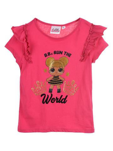 """L.O.L. Surprise Koszulka """"LOL Surprise"""" w kolorze różowym"""