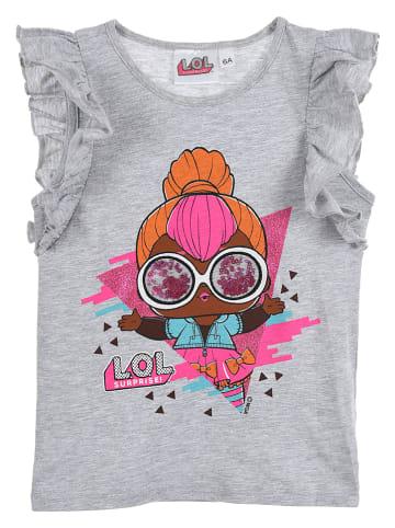 """L.O.L. Surprise Koszulka """"LOL Surprise"""" w kolorze szarym"""