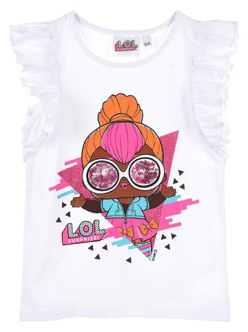 """L.O.L. Surprise Koszulka """"LOL Surprise"""" w kolorze białym"""