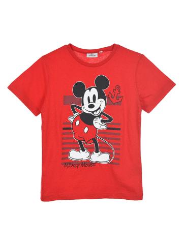 """Disney Mickey Mouse Koszulka """"Mickey Mouse"""" w kolorze czerwonym"""