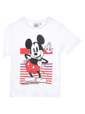 """Disney Mickey Mouse Koszulka """"Mickey Mouse"""" w kolorze białym"""
