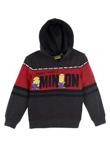 "Minions Sweatshirt ""Minions"" in Schwarz/ Rot"
