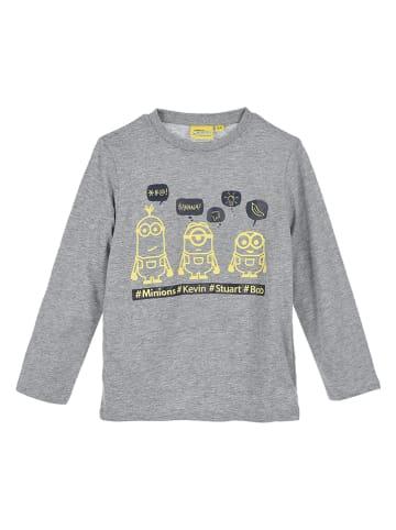 """Minions Pyjama """"Minions"""" in Grau"""