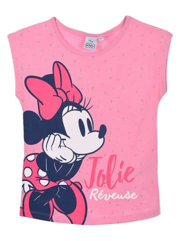 """Disney Minnie Mouse Piżama """"Minnie Mouse"""" w kolorze szaro-jasnoróżowym"""