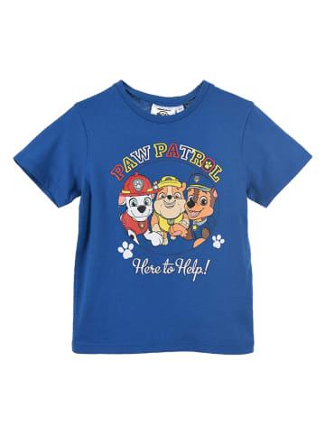"""Paw Patrol Koszulka """"Paw Patrol"""" w kolorze niebieskim"""