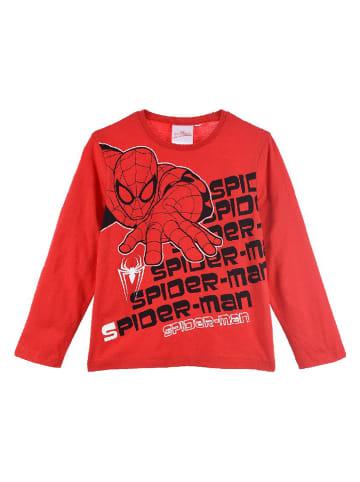 """Spiderman Koszulka """"Spider-Man"""" w kolorze czerwonym"""