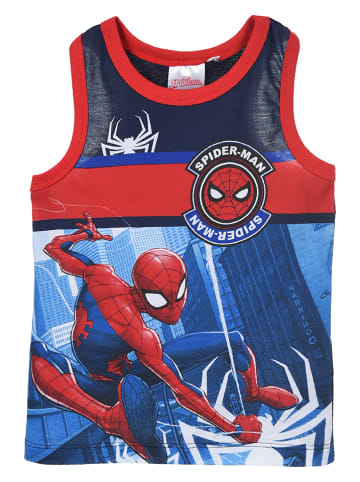 """Spiderman Piżama """"Spider-Man"""" w kolorze granatowo-niebieskim"""