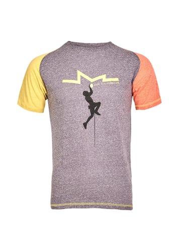 MILO T-shirt w kolorze szarym