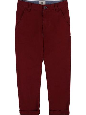 Timberland Spodnie w kolorze czerwonym