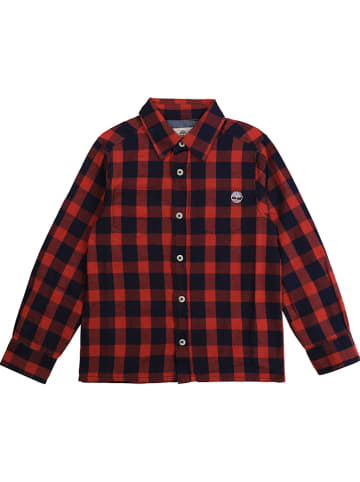 Timberland Koszula w kolorze czerwono-granatowym