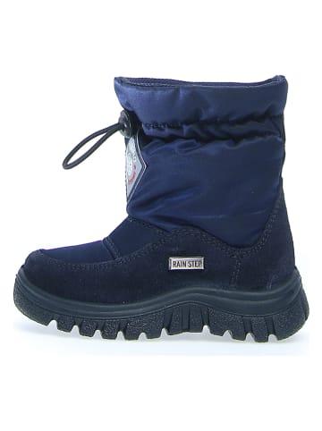 """Naturino Botki zimowe """"Varsa"""" w kolorze niebieskim"""