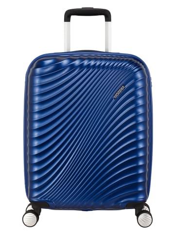 """Samsonite Walizka """"Jetglam"""" w kolorze niebieskim - 40 x 55 x 20 cm"""