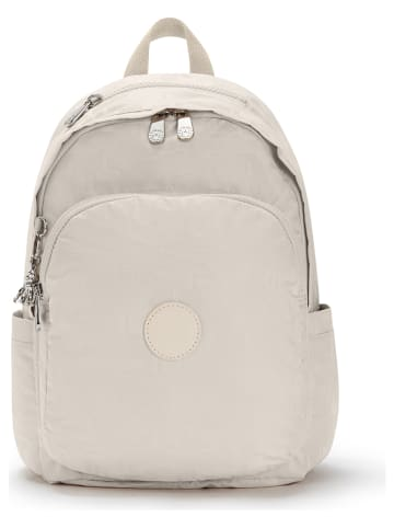 """Kipling Skórzany plecak """"Delia"""" w kolorze beżowym - 30 x 45 x 15,5 cm"""