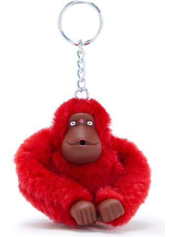 """Kipling Brelok """"Monkeyclip"""" w kolorze czerwonym na klucze - 5 x 7 x 4,5 cm"""