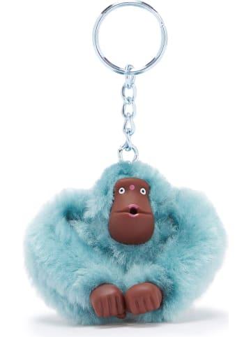 """Kipling Brelok """"Monkeyclip"""" w kolorze błękitnym na klucze - 4,5 x 5 x 4 cm"""