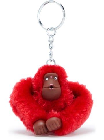 """Kipling Brelok """"Monkeyclip"""" w kolorze czerwonym na klucze - 4,5 x 5 x 4 cm"""