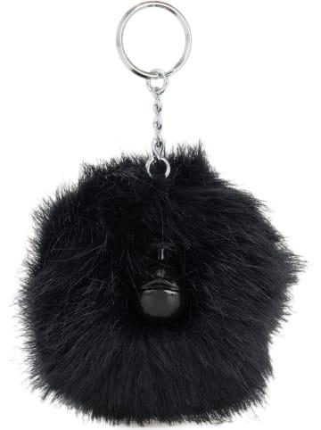 """Kipling Brelok """"Pompom Monkey"""" w kolorze granatowym na klucze - 11 x 8 x 7 cm"""