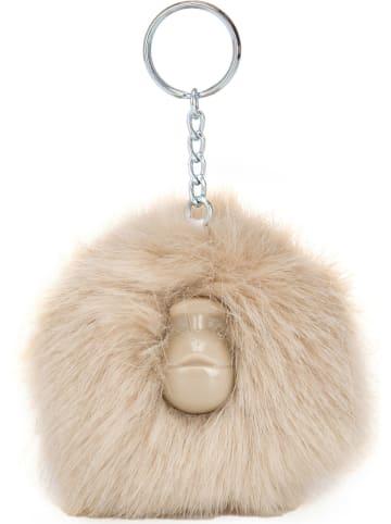 """Kipling Brelok """"Pompom Monkey"""" w kolorze beżowym na klucze - 11 x 8 x 7 cm"""
