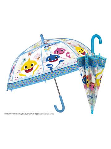 """Baby Shark Regenschirm """"Baby Shark"""" in Transparent/ Bunt - Ø 42 cm"""
