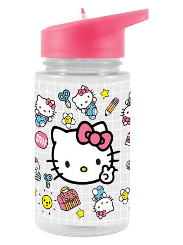 """Hello Kitty Drinkfles met rietje """"Hello Kitty"""" transparant/meerkleurig - 450 ml"""