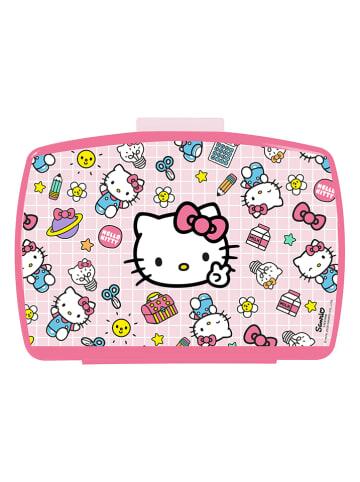 "Hello Kitty Lunchbox ""Hello Kitty"" lichtroze - (B)16 x (H)6,5 x (D)12 cm"