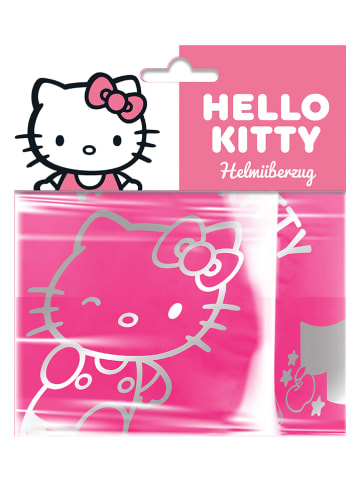 "Hello Kitty Helm-regenhoes ""Hello Kitty"" roze"