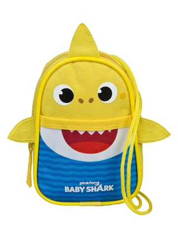 """Baby Shark Geldbeutel """"Baby Shark"""" in Gelb - (B)9 x (H)14,5 cm"""