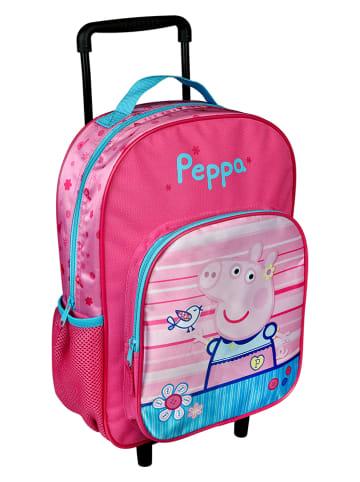 "Peppa Pig Trolley ""Peppa Pig"" lichtroze/roze - (B)27 x (H)38 x (D)12 cm"