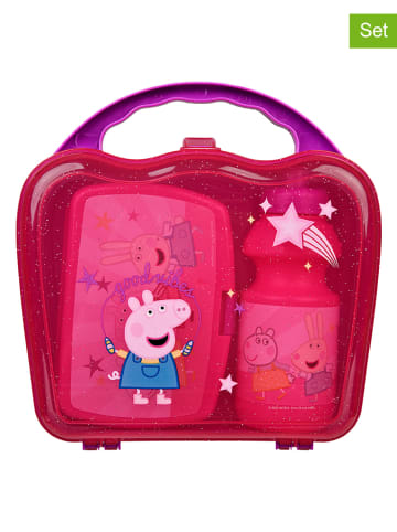 "Peppa Pig 2-delige lunchset ""Peppa Pig"" roze"
