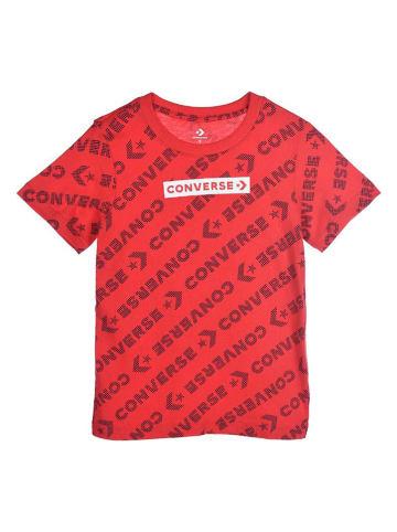 Converse Shirt rood