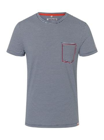 """Timezone Shirt """"Sailor"""" in Dunkelblau/ Weiß"""