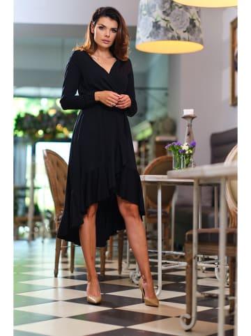 Awama Sukienka w kolorze czarnym