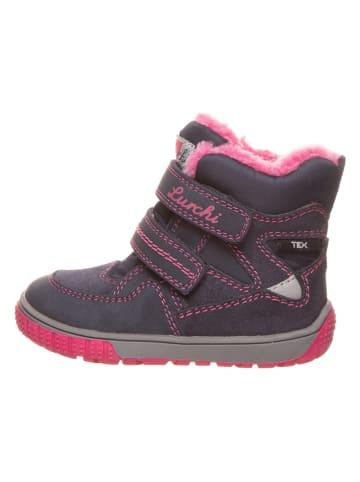 """Lurchi Winterboots """"Jaufen"""" in Dunkelblau/ Pink"""