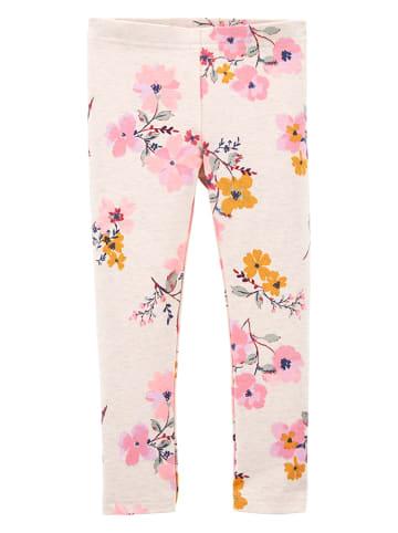 OshKosh Leggings in Creme/ Rosa