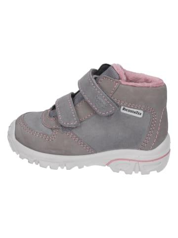 "PEPINO Leder-Boots ""Lenzi"" in Grau"